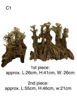 XL Hand crafted Bonsai Driftwood - C1